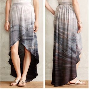 Anthropologie Gypsy 05 Seascape Maxi Skirt